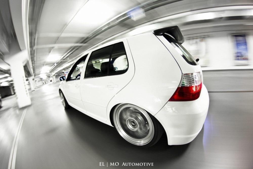 Rolling shot VW Golf