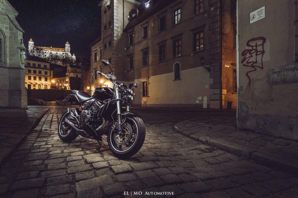 Fotenie motorky