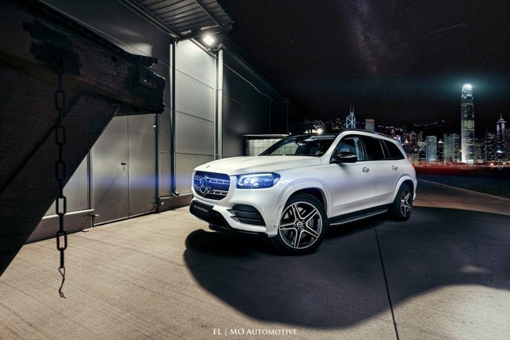 Fotenie Mercedes Benz GLS