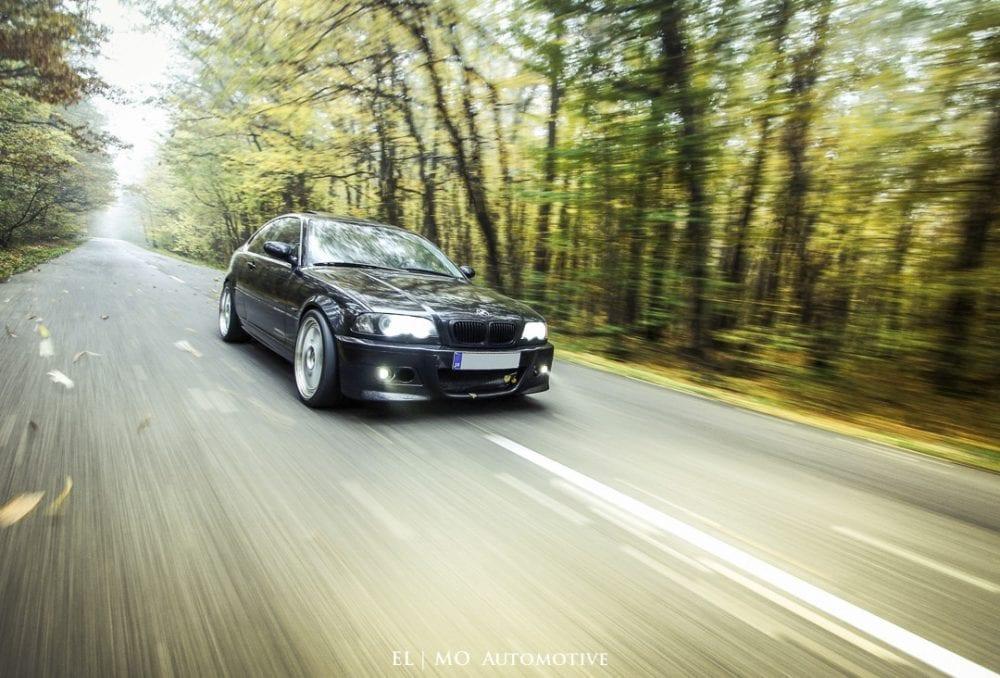 rolling shot BMW