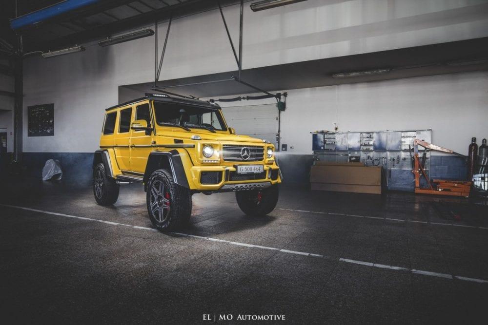 Reklamne fotenie Mercedes AMG