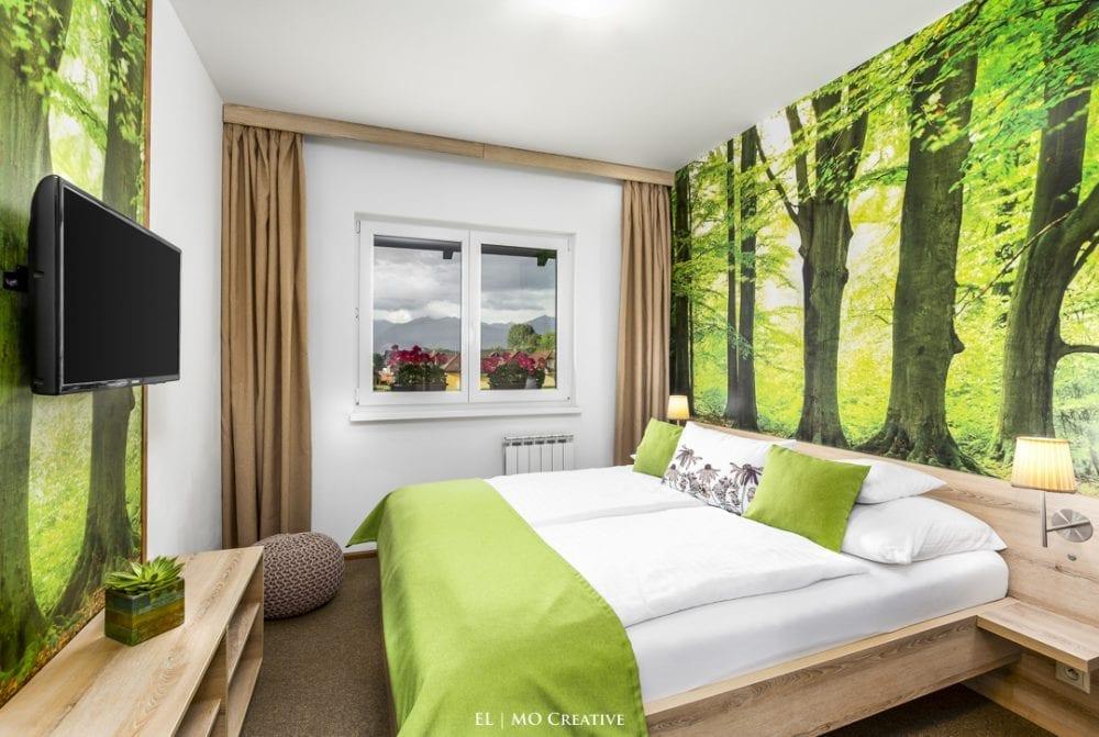 Fotenie hotela v Tatrach