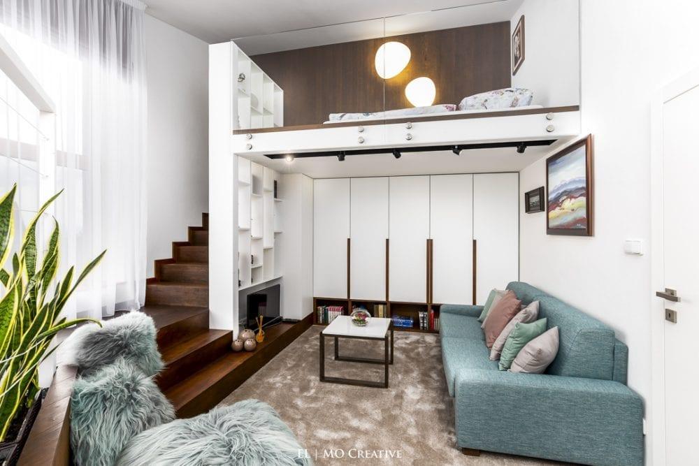 Dizajnovy interier hostovskej izby