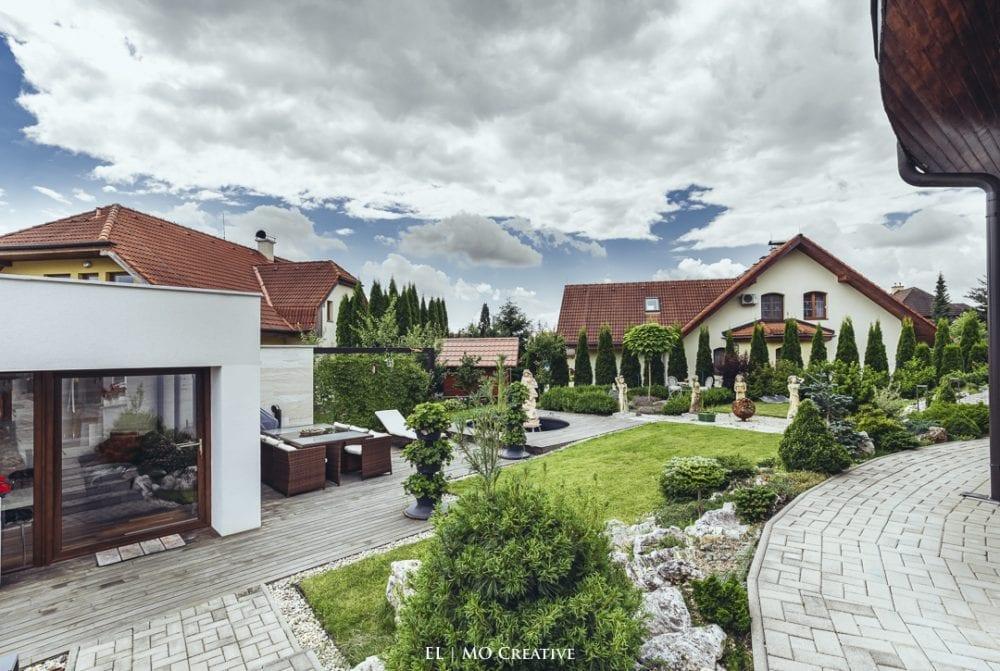 Fotenie exterieru domu v Tatrach