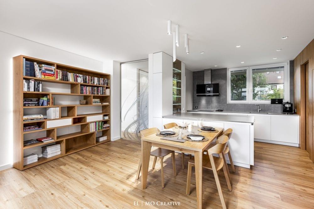 Dizajnova kuchyna rodinneho domu