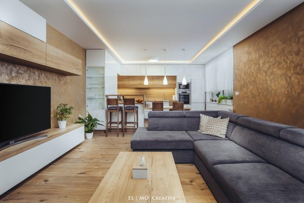 Dizajnovy interier bytu v Bratislave