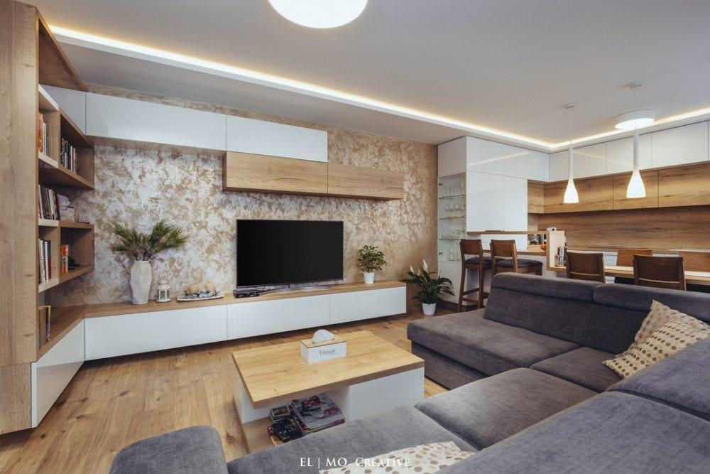 Dizajnovy interier bytu Bratislava
