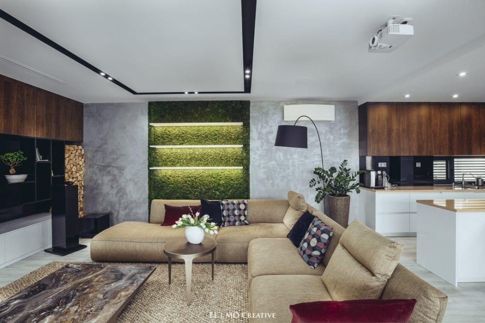 Dizajnovy interier domu Bratislava