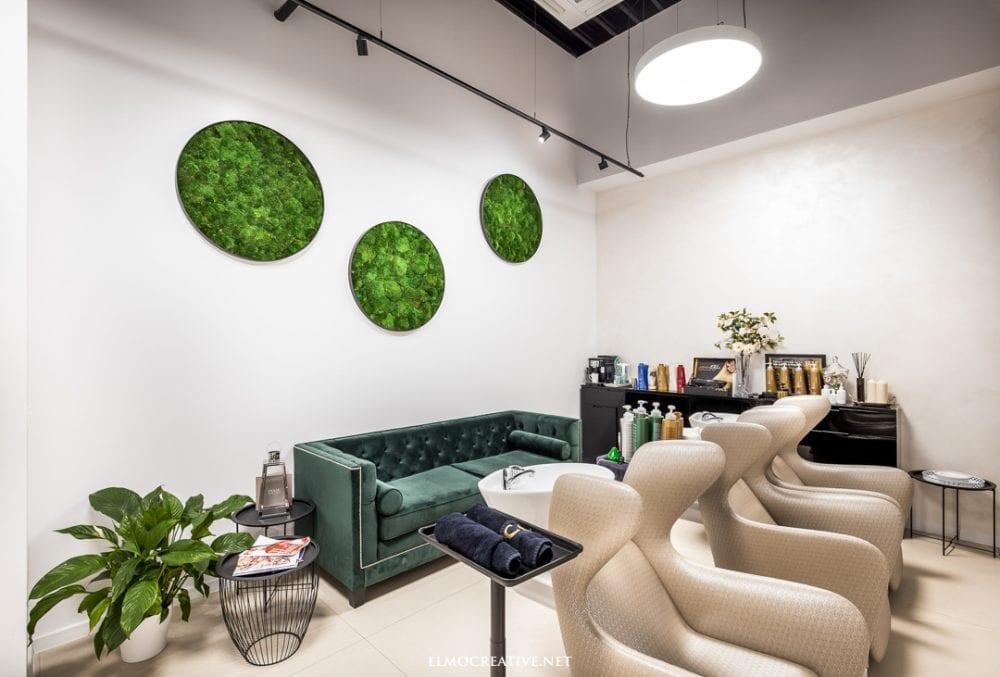 Interier kozmetickeho salonu