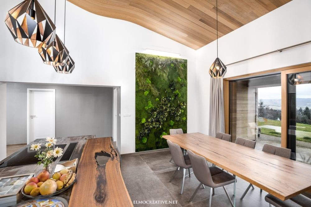 Dizajnove drevene stropy