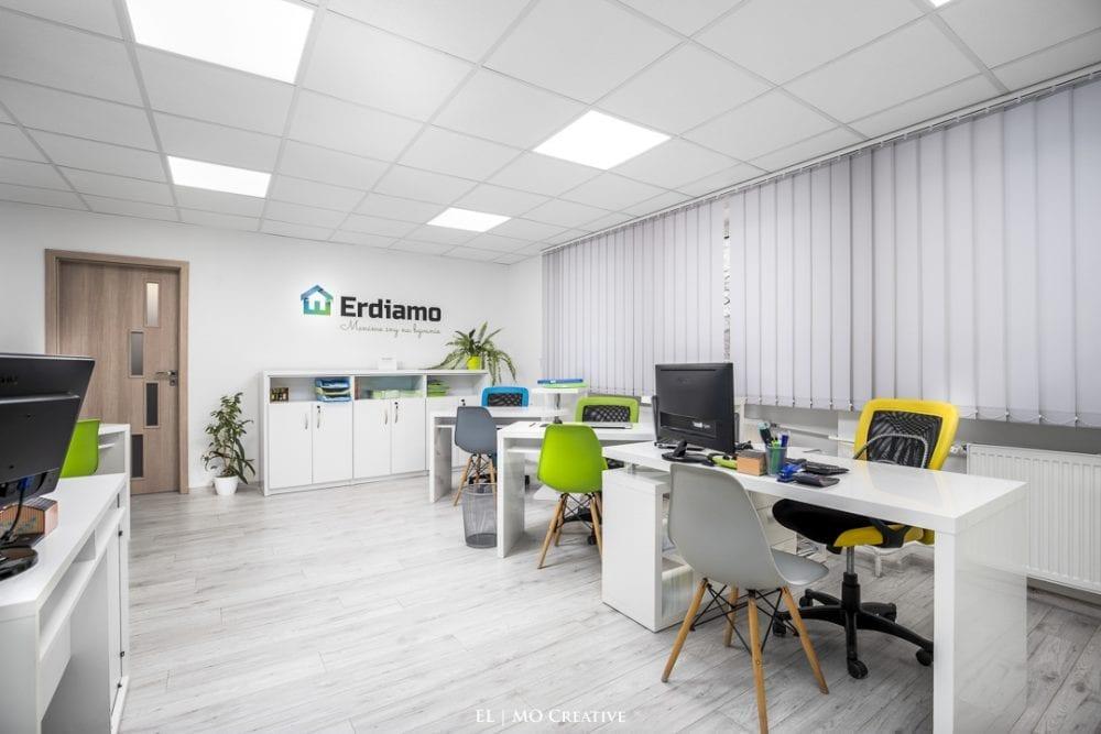 Fotenie firemnych priestorov realitknej kancelarie