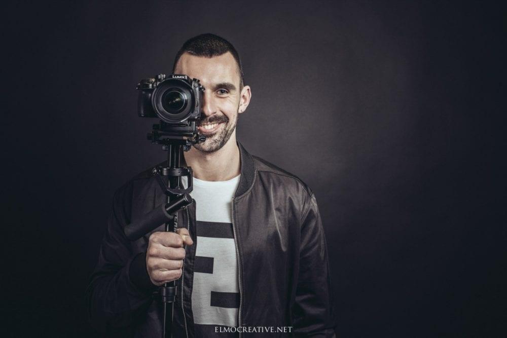 Portret muza kameramana