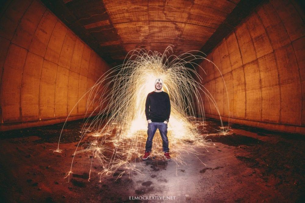 Fotenie v tunely portret