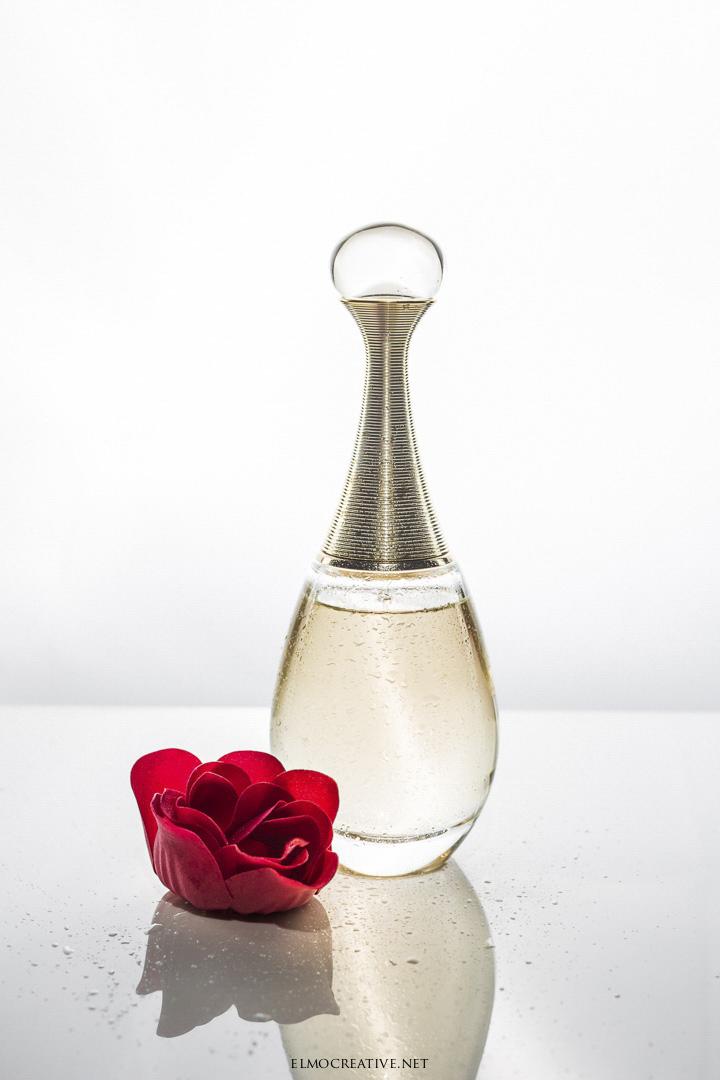 Produktove fotenie parfemu
