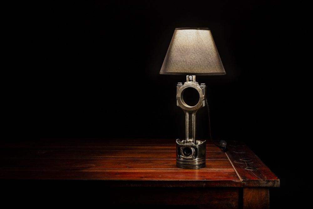 Produktova fotografia lampa